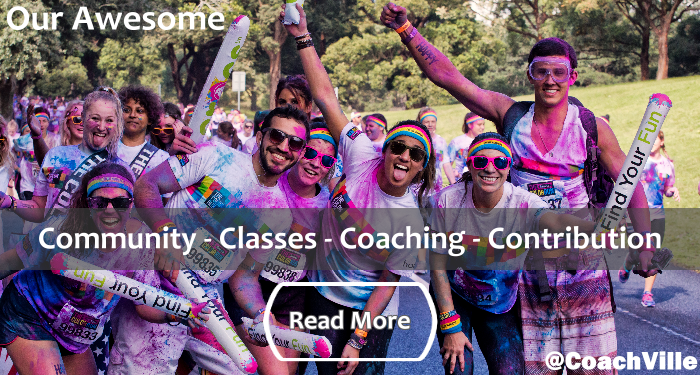 CV Awesome - Community - Classes - Coaching - Contribution