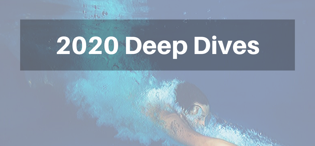2020 Deep Dive Schedule
