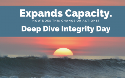 Deep Dive Integrity Day Expands Capacity