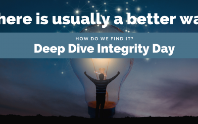 Deep Dive Integrity Day – Better Way
